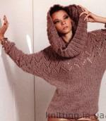 Elegáns finom gyapjú pulóver