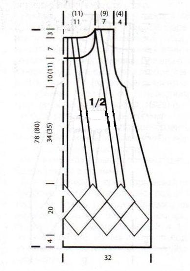 tunika szabásminta