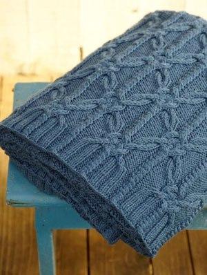 Kötésminta takaróhoz
