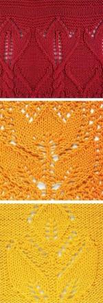 Mintagyűjtemény: kötött virágminták