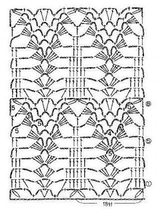 ananászminta leszámolható rajz