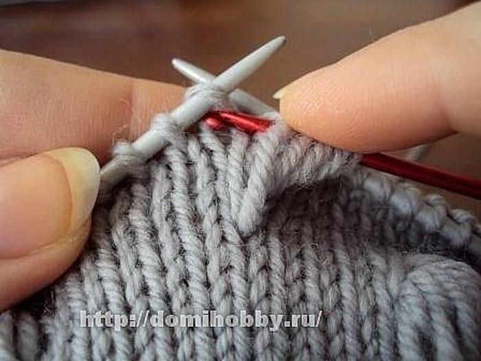 Szép bogyós minta kötése