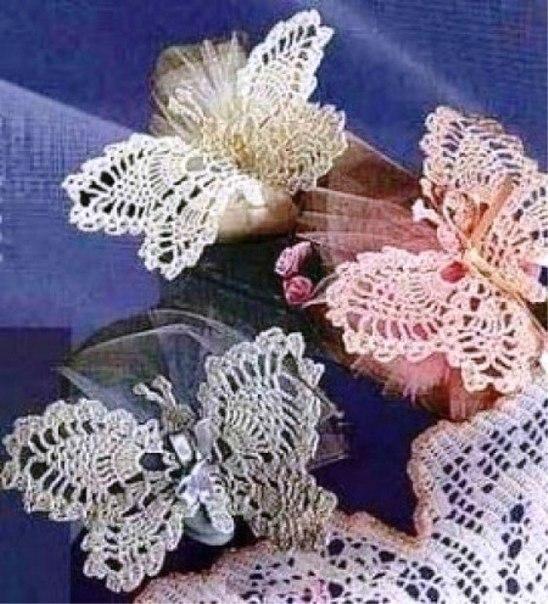 Horgolt pillangó minták