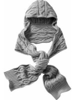 Kapucnis sál kötése