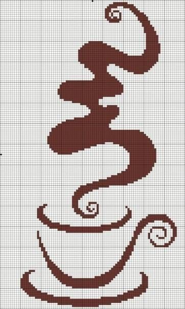 Keresztszemes kávé minták