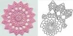 10 gyönyörű horgolt terítő minta