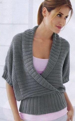 Sál galléros  pulóver