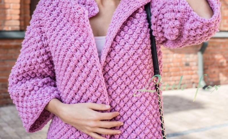 kabát kötésminta