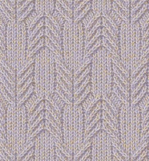 fenyő kötés minta